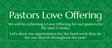 Pastors Love Offering