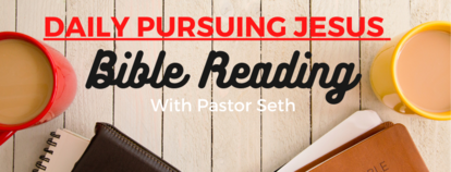 Daily Pursuing Jesus