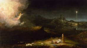 The Angel Appearing To The Shepherds (Thomas Cole)