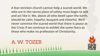 Tozer Fear 2