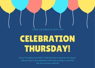 celebration thursday!
