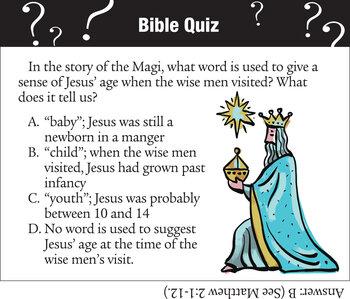 Wise Men Quiz