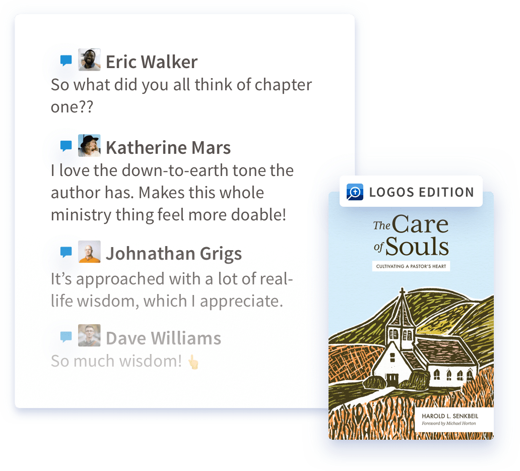 Read in Logos, Connect in Faithlife
