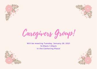 Caregivers Group! (1)