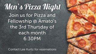 Men's Pizza Night