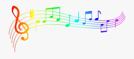 22-228054 Colorful Music Clipart Musical Notes Transparent Background