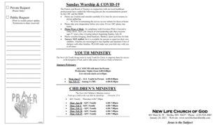 2021-01-24 Sunday Bulletin 2