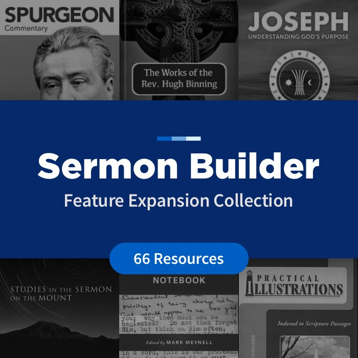 Sermon Builder Feature Expansion Collection (66 Resources)