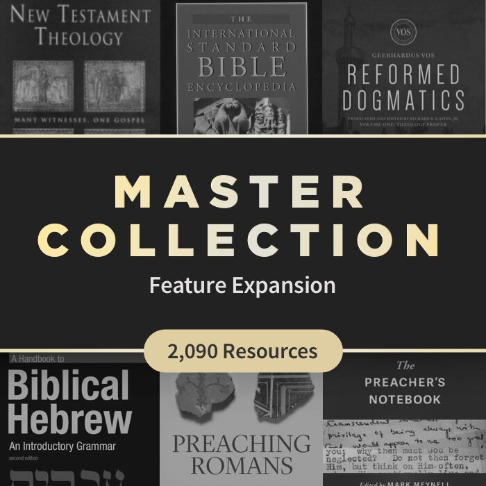 Logos Feature Expansion Master Collection (2,090 resources)