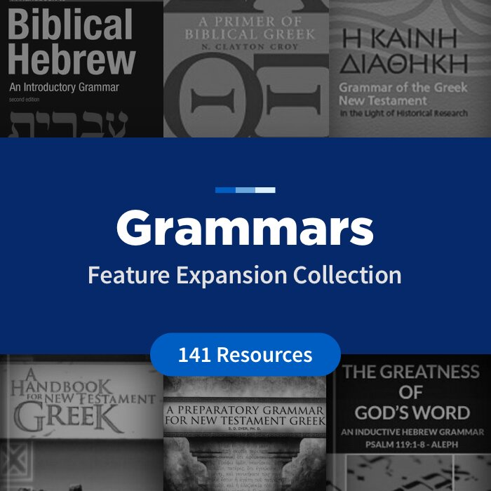 Grammars Feature Expansion Collection (141 Resources)