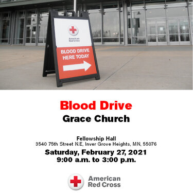 Blood Drive Promotional Poster
