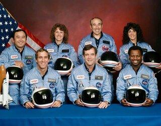 Challenger Crew Pic