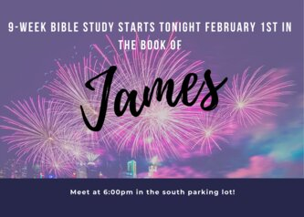 9-week bible study starts tonight in...