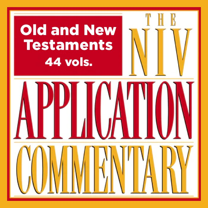 NIV Application Commentary: Old and New Testaments, 44 vols. (NIVAC)