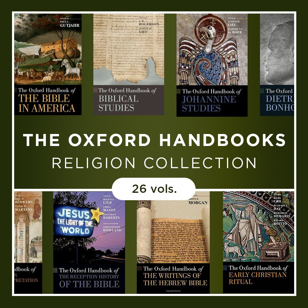 The Oxford Handbooks Religion Collection (26 vols.)
