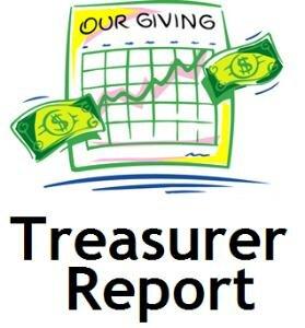 Park Place Treasurer's Report