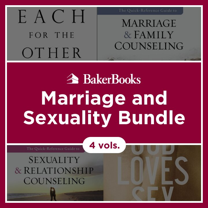 Marriage and Sexuality Bundle (4 vols.)