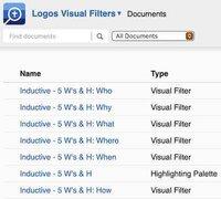 Logos Visual Filters Inductive
