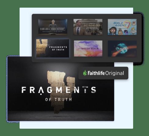 Screenshot of Watch Faithlife original films.