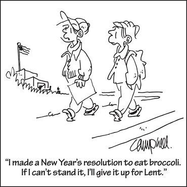 Lent Cartoon