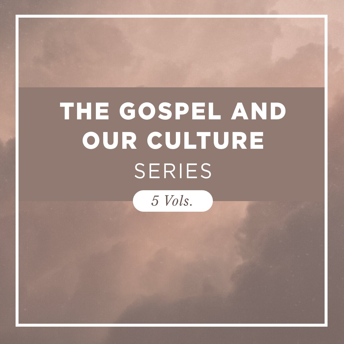 The Gospel and Our Culture Series (5 vols.)