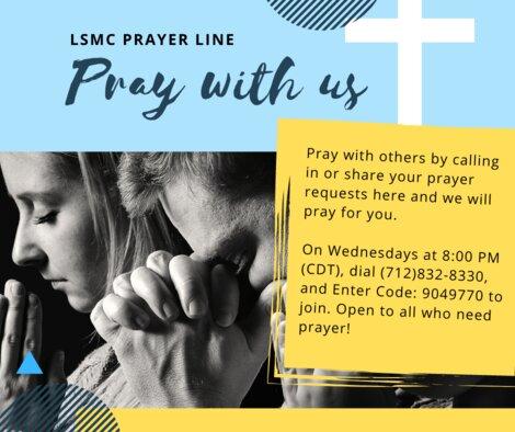 Copy of Beige Praying Illustration National Day of Prayer Social Media Graphic