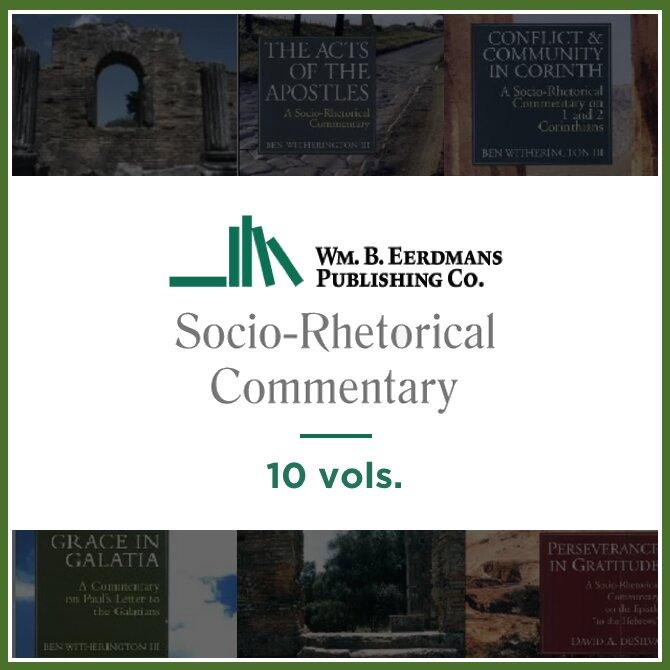 Socio-Rhetorical Commentary Series | SRC (10 vols.)