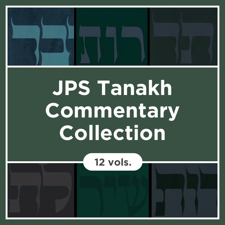 JPS Tanakh Commentary Collection | JPSTC (12 vols.)