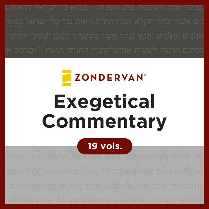 Zondervan Exegetical Commentary Collection | ZEC (19 vols.)