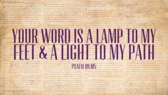 Psalm 119 105-1920X1080