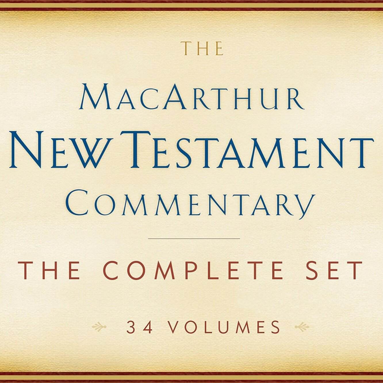 The MacArthur New Testament Commentary Series   MNTC (34 vols.)