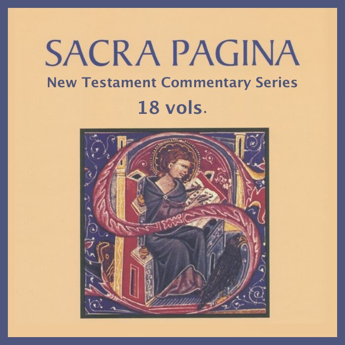 Sacra Pagina New Testament Commentary Series | ...