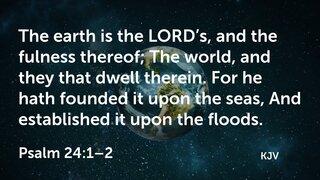 Psalm 24-1-2