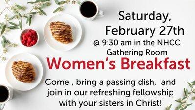 Women's Breakfast - February
