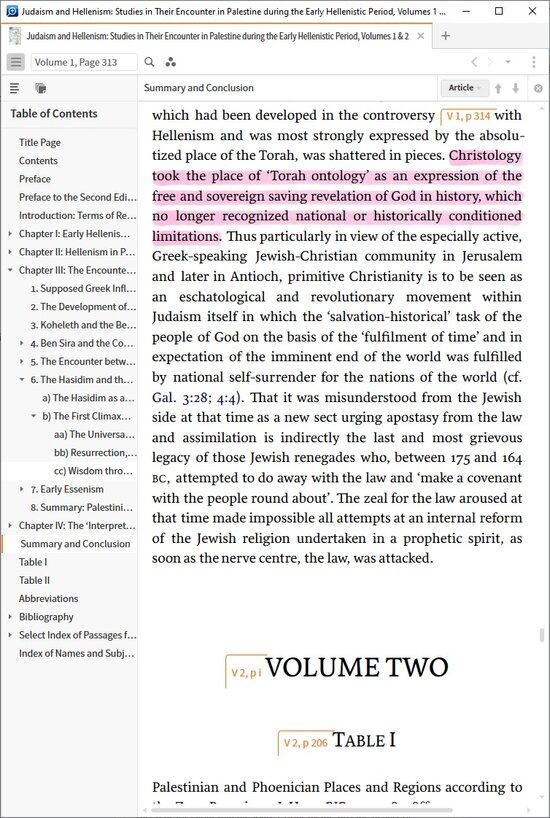 Hengel Judaismandhellenism Vol2missingpages