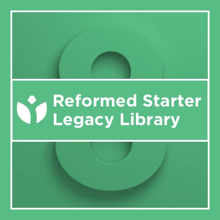Logos 8 Reformed Starter Legacy Library
