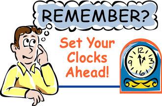 Daily Light Savings Time - Spring Forward