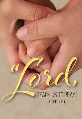 Prayer Hands Lord Teach Us To Pray
