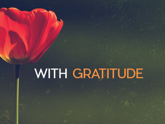 Thank You With Gratitude