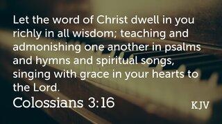 Colossians 3-16