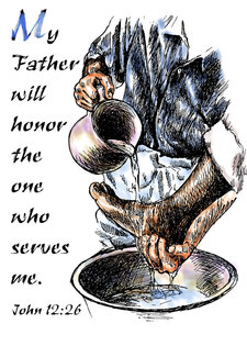 John 12 26 My Father Will Honor The One Who Serves Me