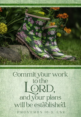 Garden Boots Commit Your Work