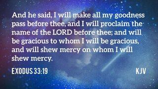 Exodus 33-19