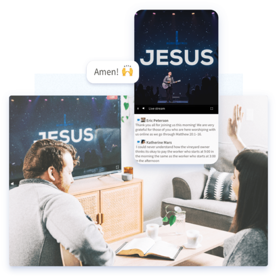 Faithlife Equip with Faithlife Live Stream