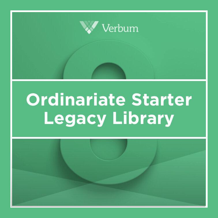Verbum 8 Ordinariate Starter Legacy Library
