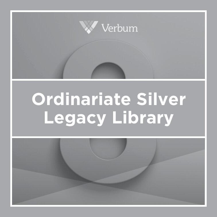 Verbum 8 Ordinariate Silver Legacy Library