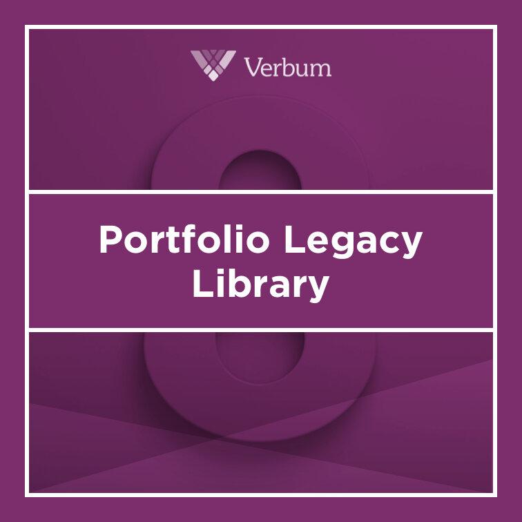 Verbum 8 Portfolio Legacy Library