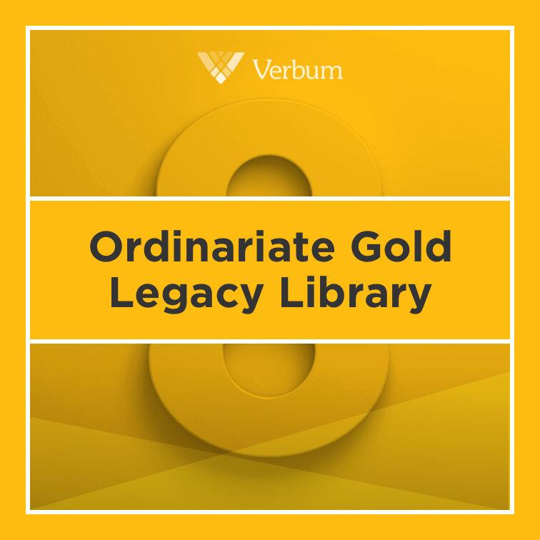 Verbum 8 Ordinariate Gold Legacy Library