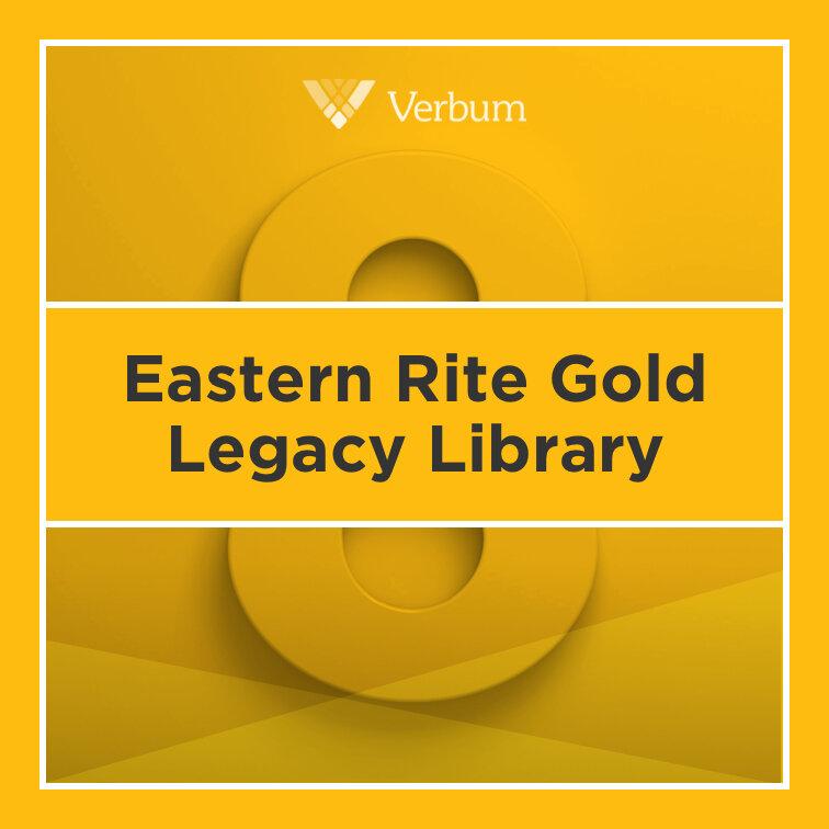 Verbum 8 Eastern Rite Gold Legacy Library