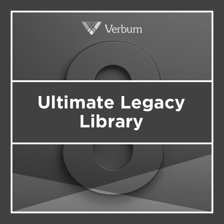 Verbum 8 Ultimate Legacy Library